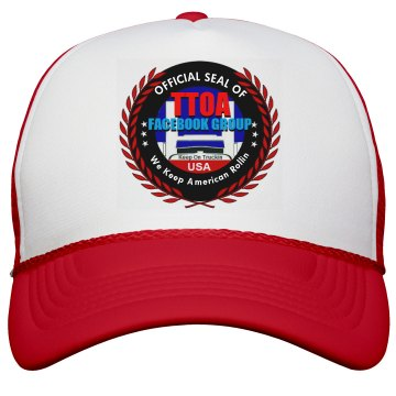 Official TTOA Facebook Logo Member Trucker Cap