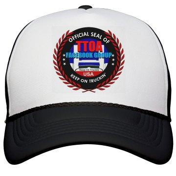 Official TTOA Facebook Logo Member Trucker Cap