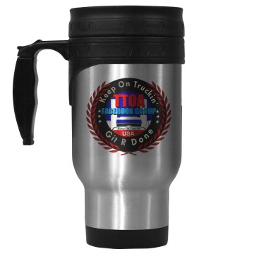 Official TTOA FBG Logo Member Travel Mug