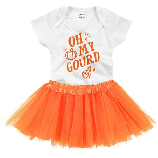 Oh My Gourd! Cutest Halloween Baby Outfit