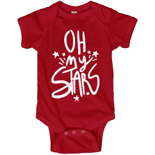 Oh My Stars and Stripes Bodysuit