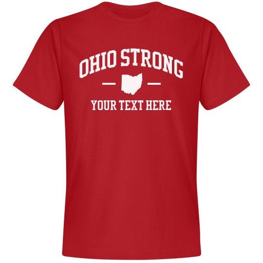 Ohio Strong Quarantine Custom Text