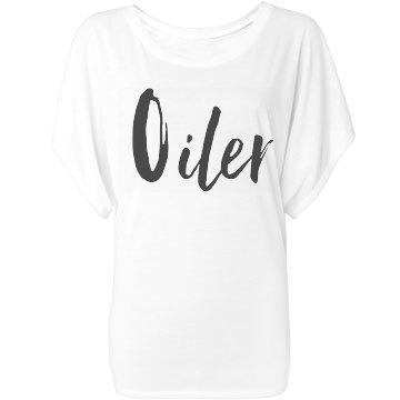 Oiler-Flowy Top