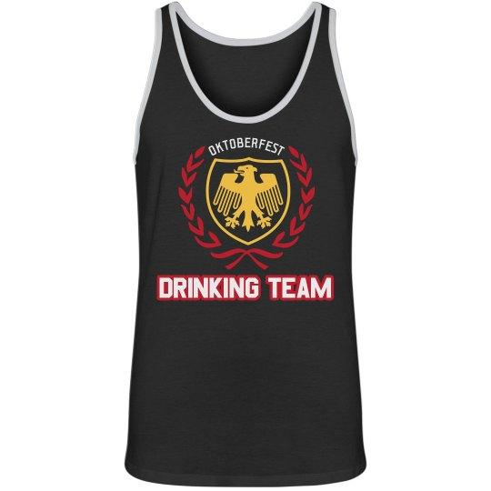 Oktoberfest Shield Drinking Team Tank