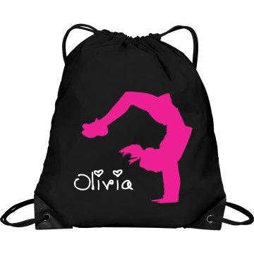 Olivia cheerleader bag