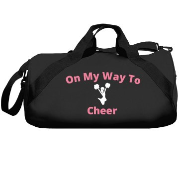 On my way to cheer