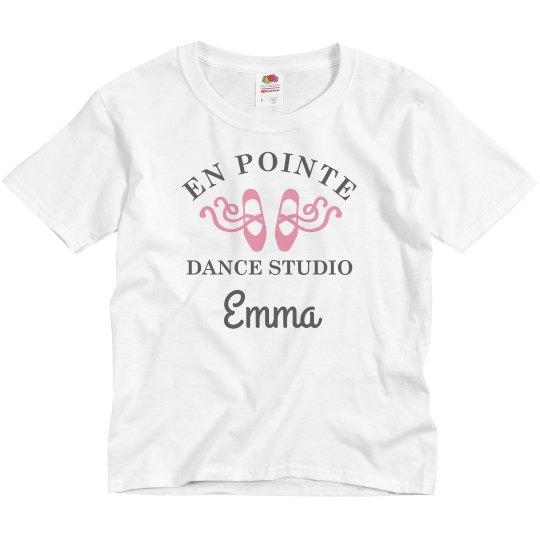 On Pointe Custom Dance Studio Tee