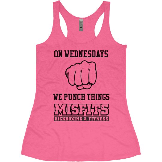 On Wednesdays We Punch Things