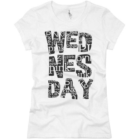 On Wednesdays we wear pin