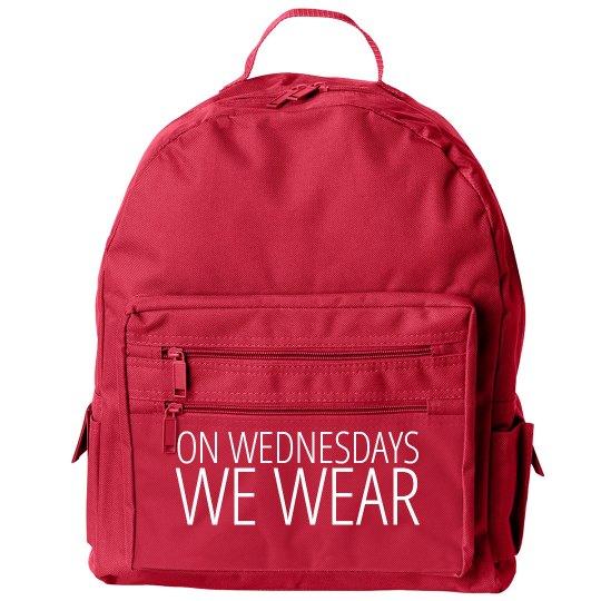 On Wednesdays We Wear Pink Kids Backpacks