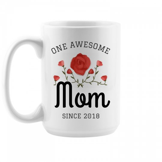 One Awesome Mom Custom Mug