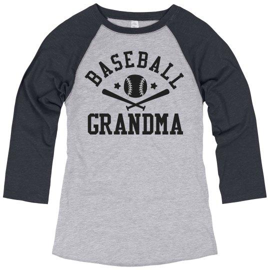 One Cool Baseball Grandma
