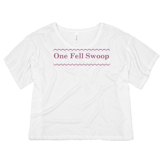 One Fell Swoop Quote