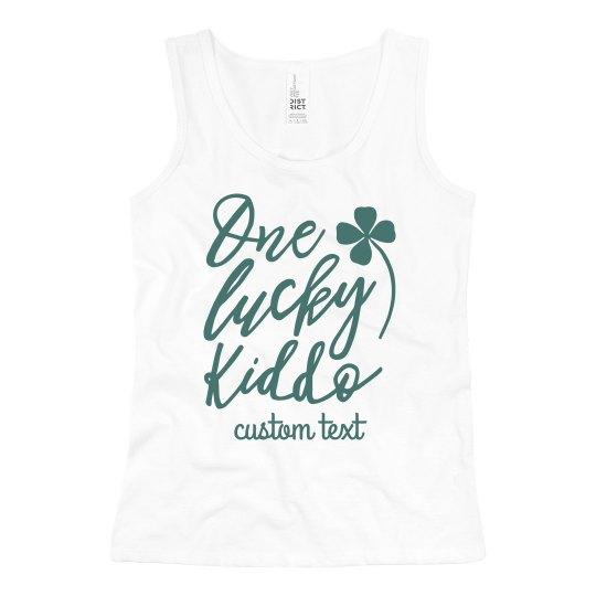 One Lucky Kiddo Customizable Kid's St. Patrick's Day
