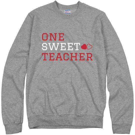 One Sweet Teacher Sweater