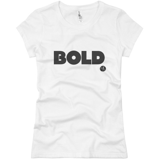 One Word Tee: BOLD
