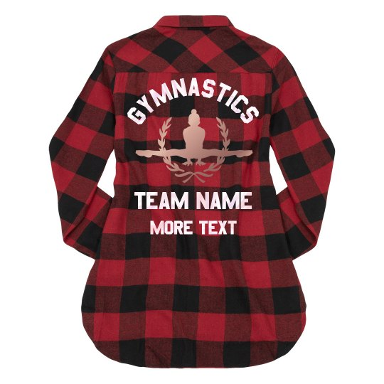 Opal Custom Gymnastics Flannel Shirt