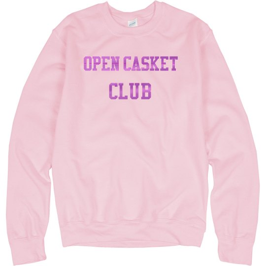 Open Casket Sweater