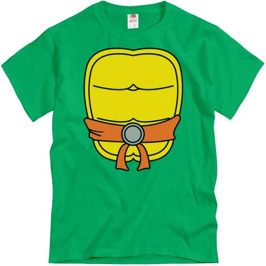 Orange Turtle Halloween Shirt