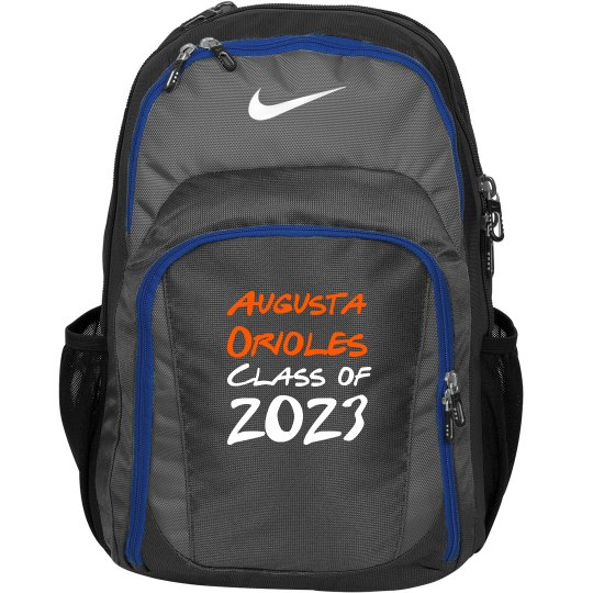 Orioles Backpack Personalized