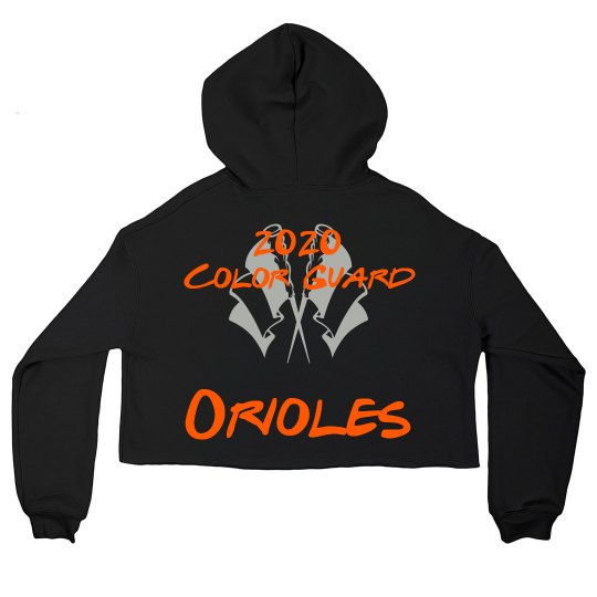 Orioles CG crop top sweatshirt