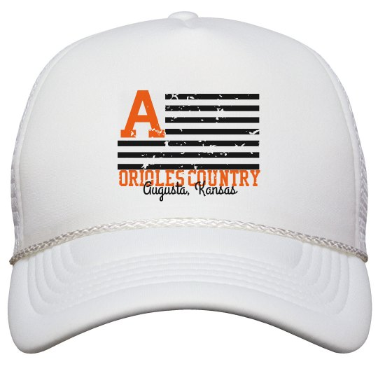Orioles Country Trucker Hat