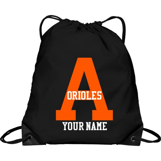 Orioles Drawstring Bag Personalized