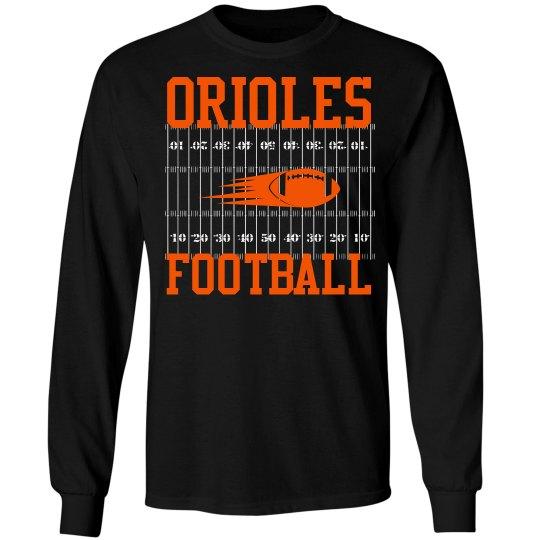 Orioles Football Long sleeve