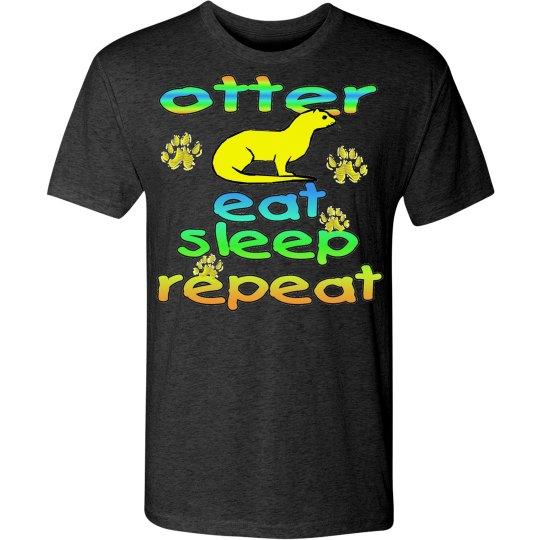 Otter Eat Sleep Repeat 2