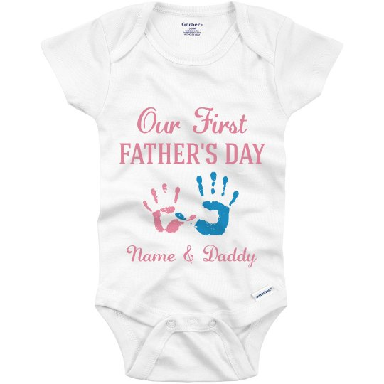 Our First Father's Day Baby Girl