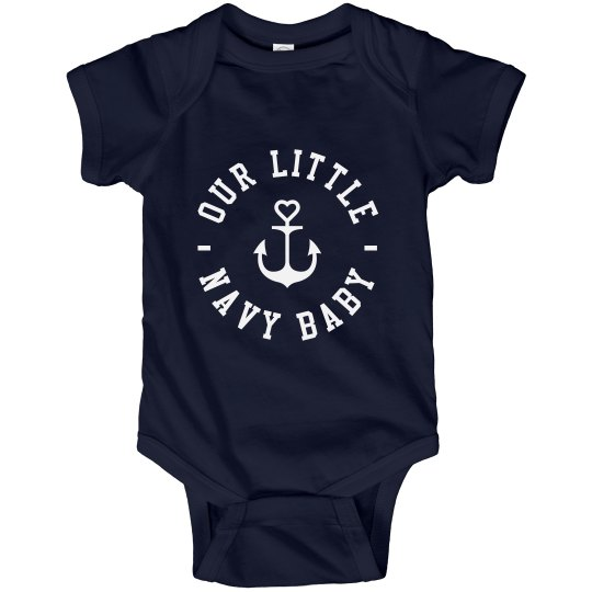Our Little Navy Baby
