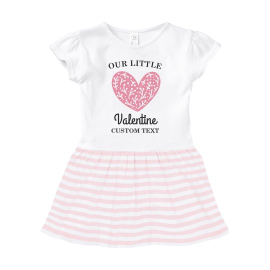 Our Little Valentine Custom Baby