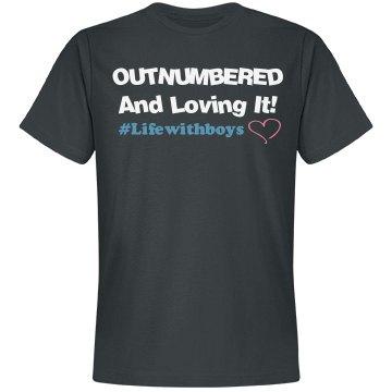 Outnumbered (Soft Unisex Shirt)