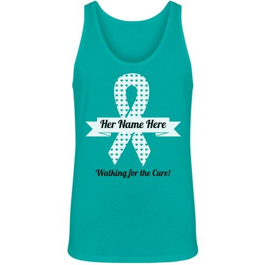 Ovarian Cancer Walk Tank