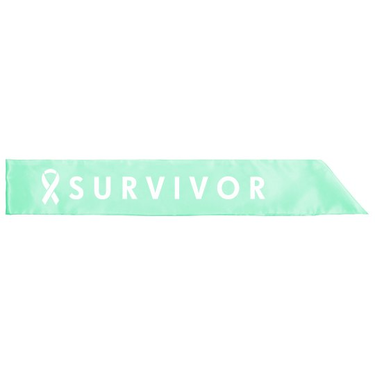 Ovarian Survivor Sash