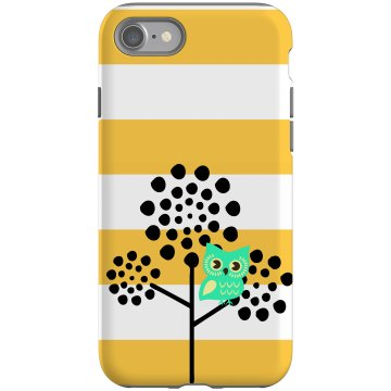 Owl In A Tree iPhone Case