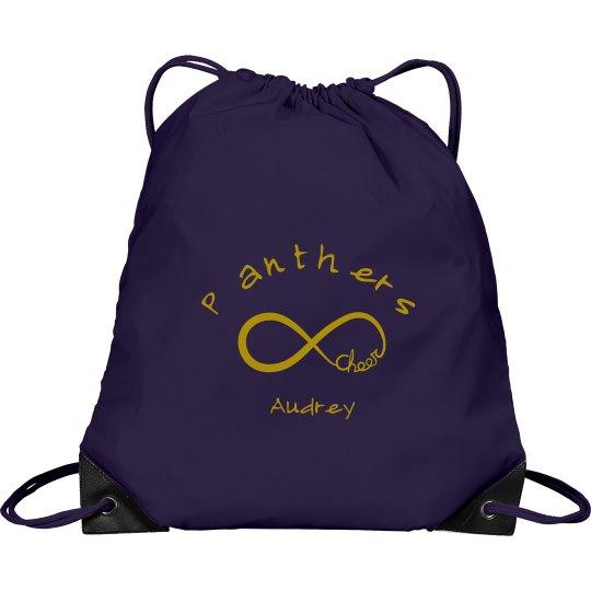 Panther Drawstring Bag