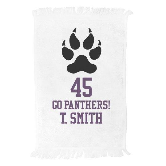 Panthers Towel