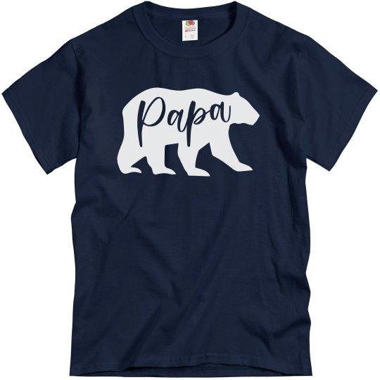 Papa Bear Matching Family Shirts