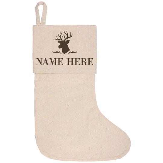 Pappa Deer Custom Name Design