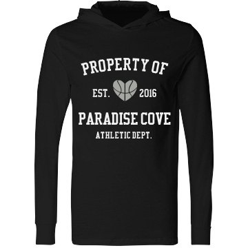 Paradise Cove Athletic Dept. Hooded Tee