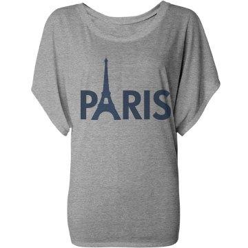 Paris Flowy Top