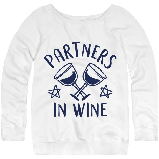 Partners In Wine Night Best Friends