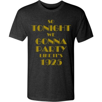 Party In Black and Gold
