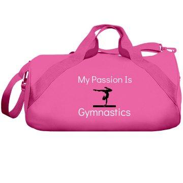 Passion is gymnastics