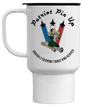 Patriot Pin Up Travel Mug