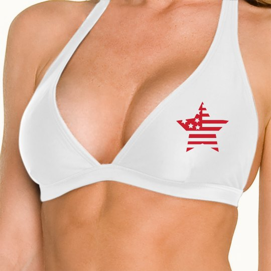 Patriot Star July 4th Bikini