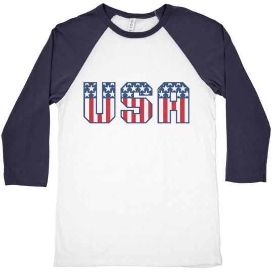 Patriotic USA Logo
