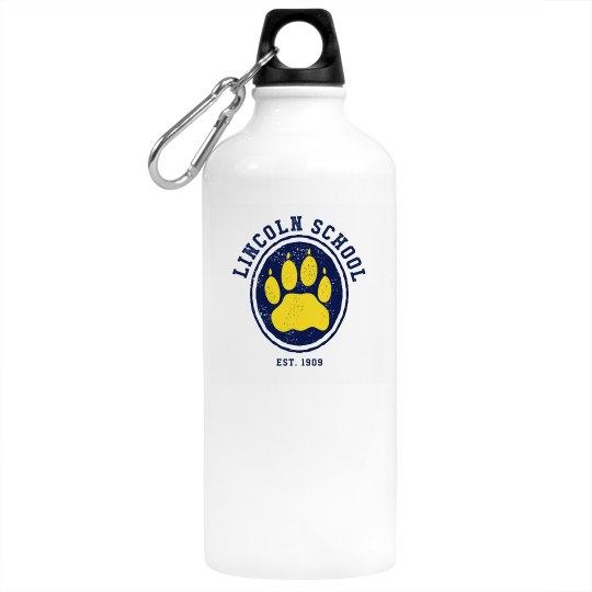 Paw Water Bottle