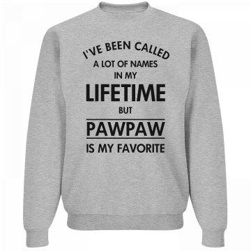 Pawpaw my favorite name shirt